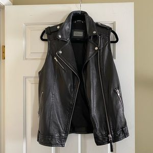 Mackage Leather Vest